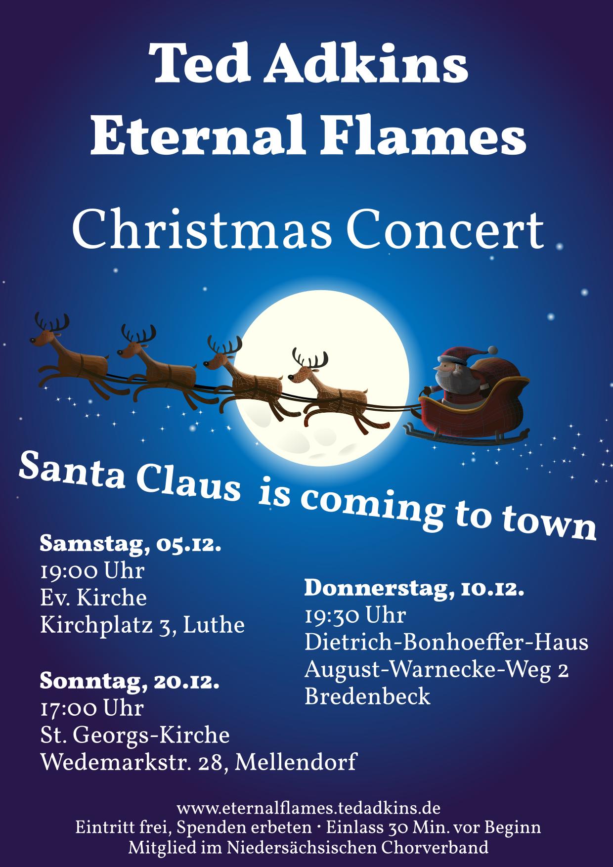 Santa Claus comes to Mellendorf