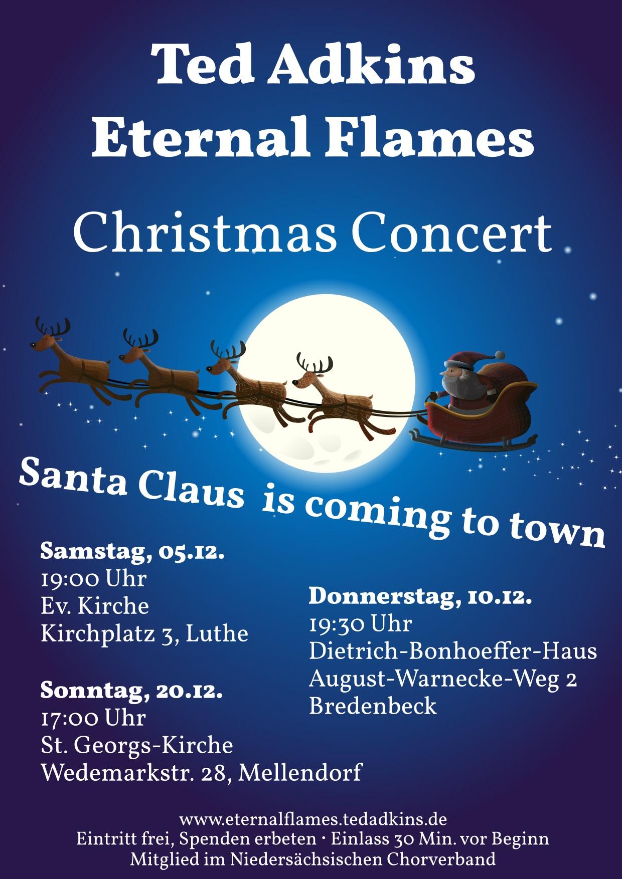 Santa Claus comes to Bredenbeck