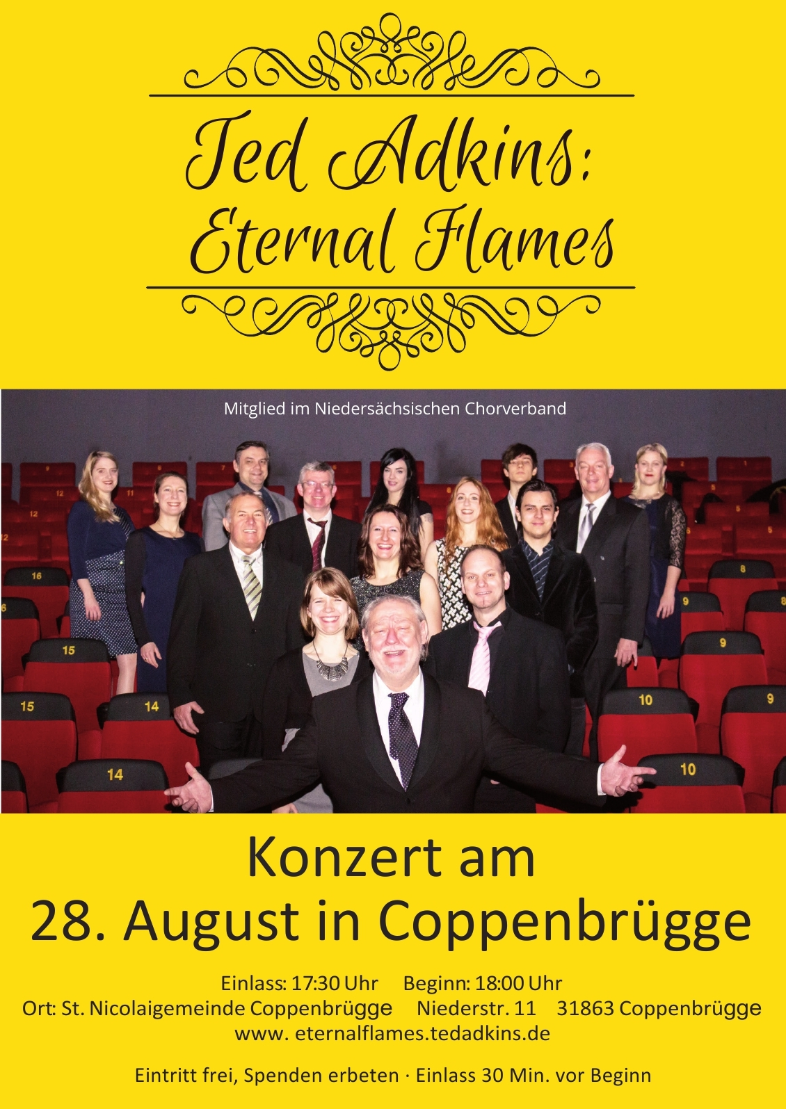 Konzert am 28. August in Coppenbrügge